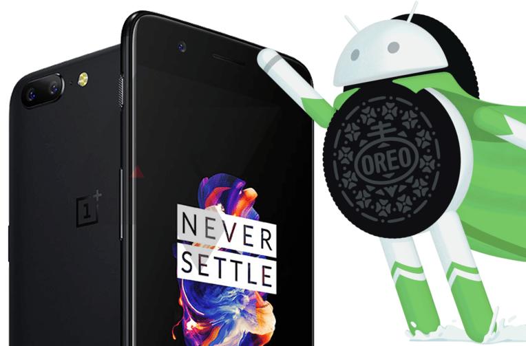 android oreo aktualizace oneplus 5