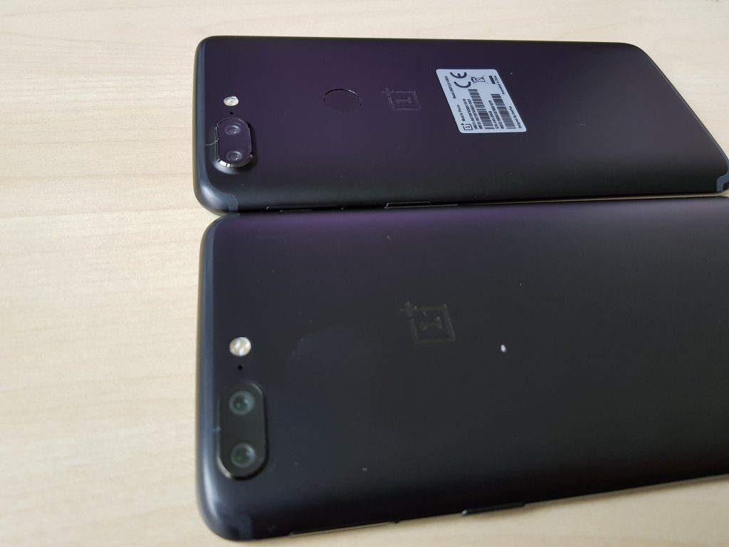OnePlus 5T fotoaparat