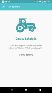 Oprava Lakatose Android