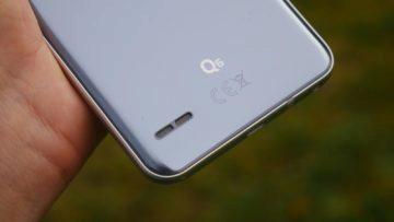 Recenze LG Q6-konstrukce-reproduktor