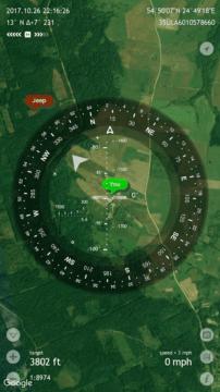 GPS aplikace pro pokročilé