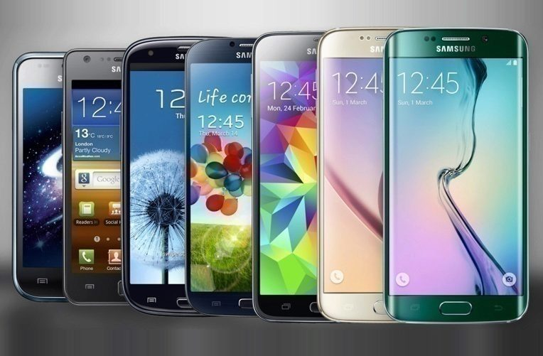 Takto rostly obrazovky telefonů Samsung
