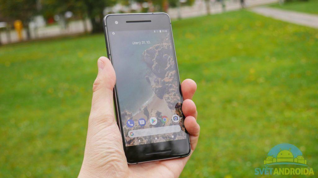 Telefon Google Pixel 2-displej