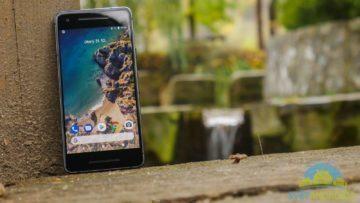 Telefon Google Pixel 2-konstrukce-predni strana-2