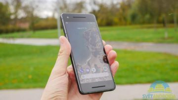 Telefon Google Pixel 2-konstrukce-predni strana 4