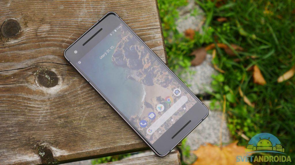 Telefon Google Pixel 2-konstrukce-predni strana-5