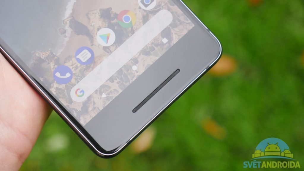 Telefon Google Pixel 2-konstrukce-reproduktor