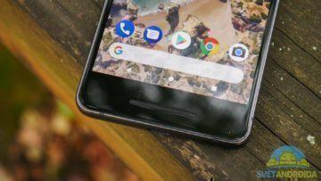 Telefon Google Pixel 2-konstrukce-spodni cast