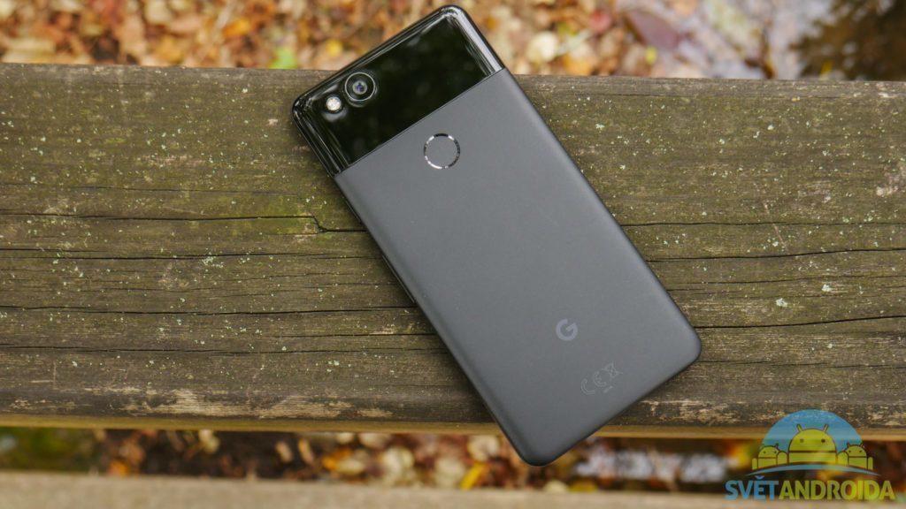 Telefon Google Pixel 2-konstrukce-zadni cast 2
