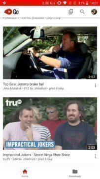 Youtube Go aplikace (1)