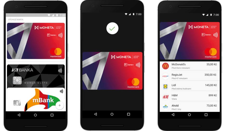 banka android pay