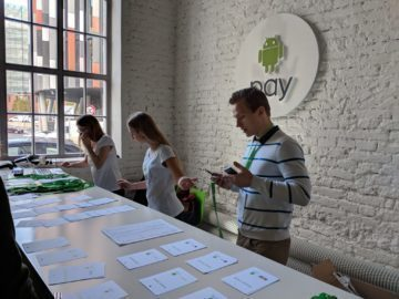 android pay platby banky