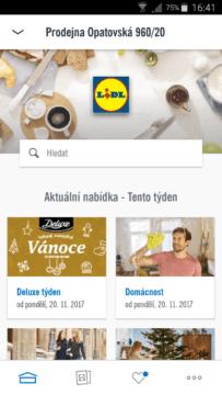 aplikace Lidl
