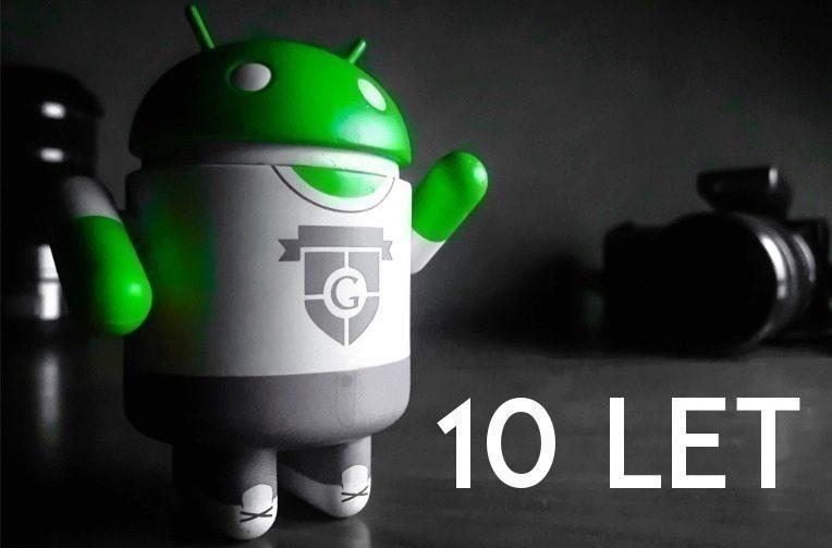 betaverze androidu 10 let