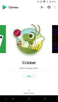 cricket hry google play