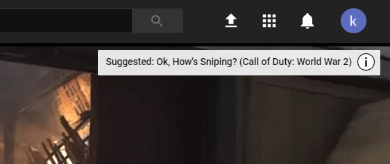 doporuceny obsah youtube konec