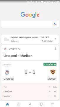 google aplikace novy design