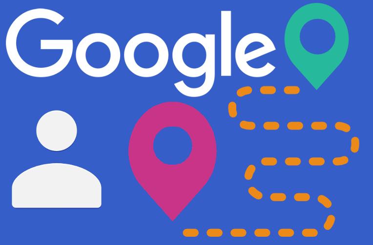 google kontakty poloha