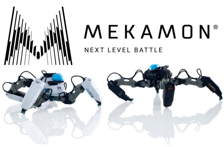 mekamon ar hracka robot