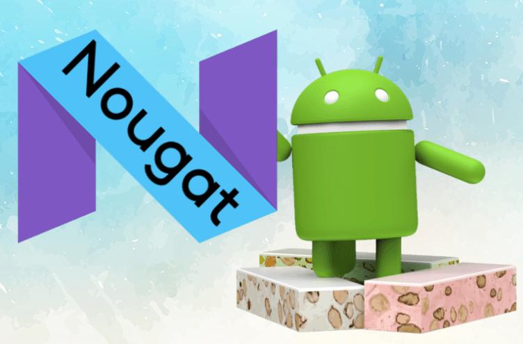 nougat android telefon podil verzi
