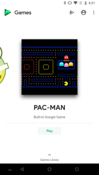 pacman hry google