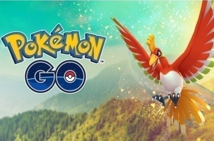 pokemon go legendarni pokemon ho-oh