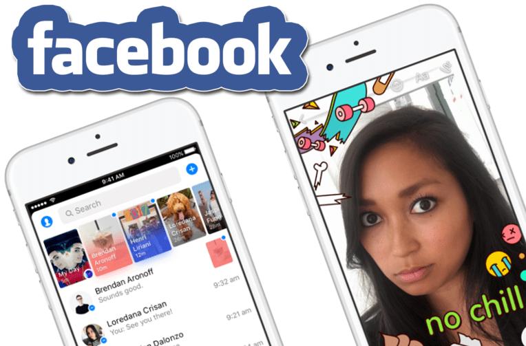 pribehy facebook messenger