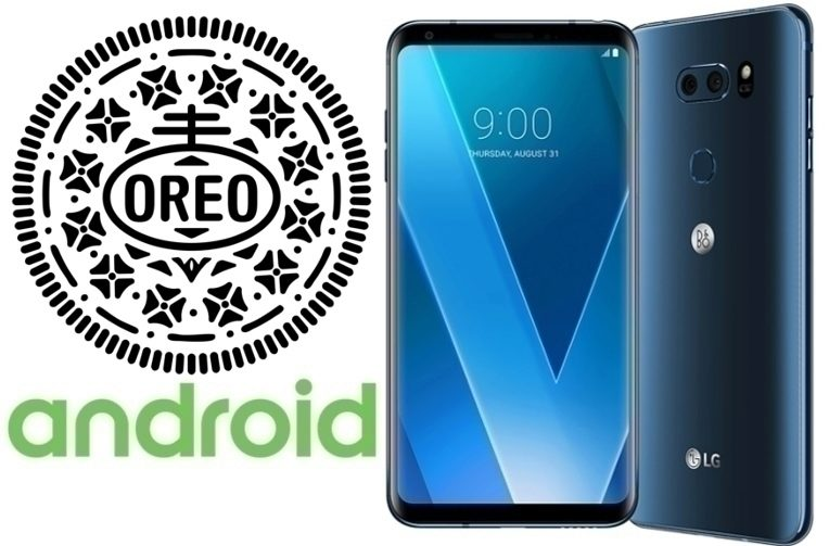 testovanim android oreo lg v30