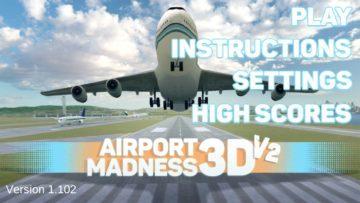 Úvodní obrazovka Airport Madness 3D: Volume 2