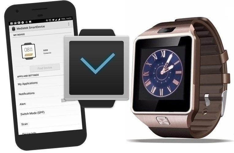 Jak-propojit-čínské-chytré-hodinky-DZ09-s-telefonem