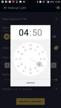 Nastavení času zahájení buzení