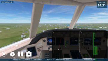 Pohled z letadla