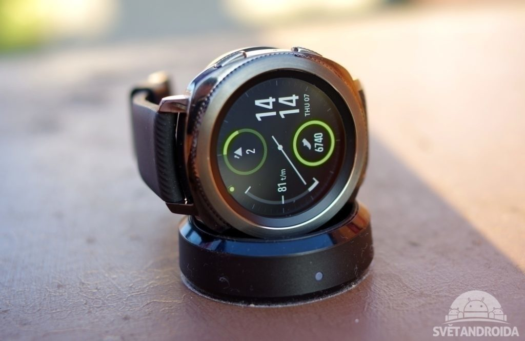 Samsung Gear Sport displej