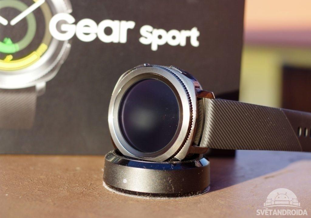 Samsung Gear Sport konstrukce
