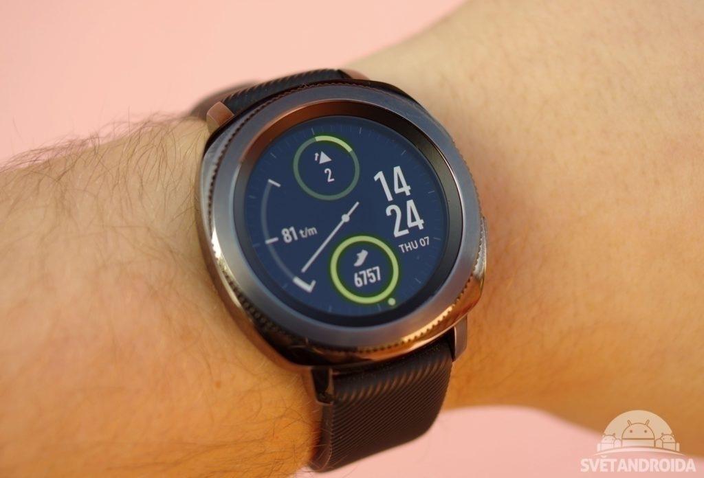 Samsung Gear Sport přední strana