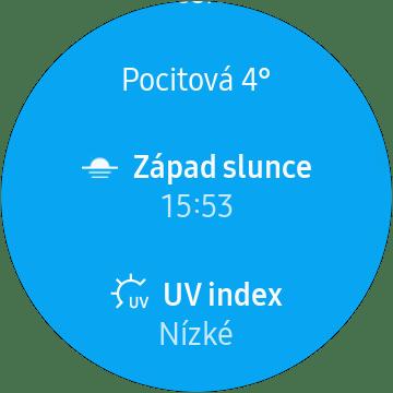 Samsung Gear Sport počasí (2)