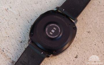 Samsung Gear Sport senzor srdečního tepu