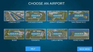 Výběr letiště