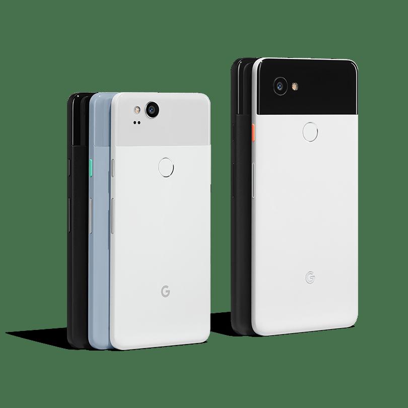 Vlajkový produkt Google: Pixel 2 a Pixel 2 XL