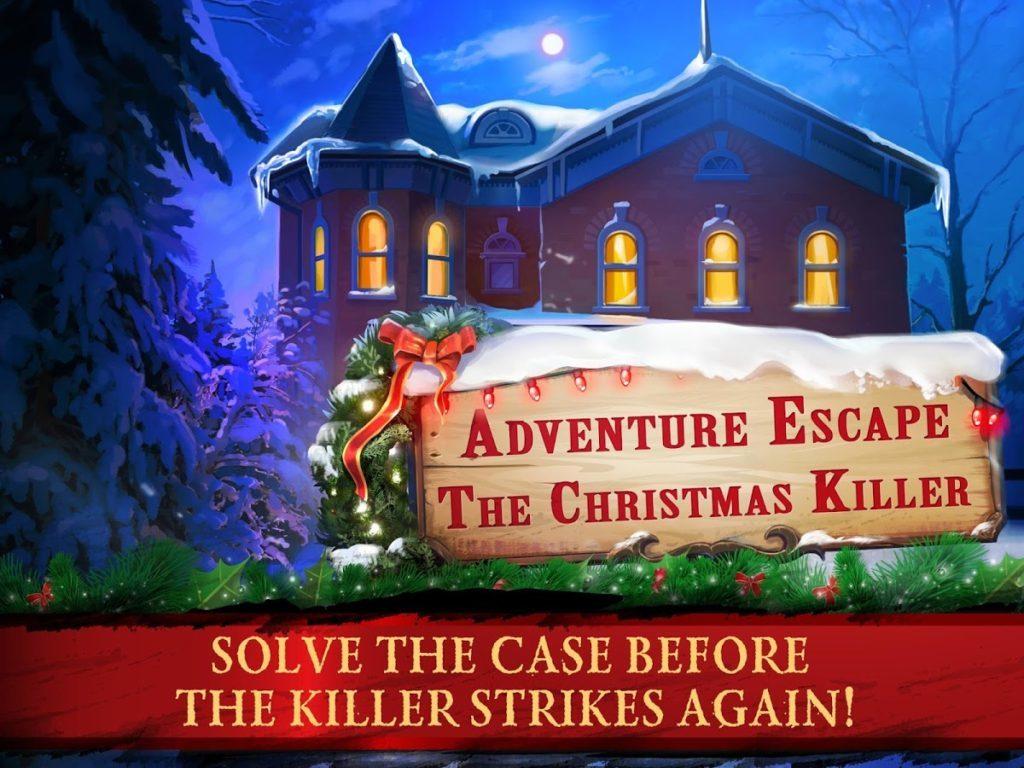 adventure escape hry s Vánoční tématikou