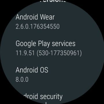android 8 oreo android wear