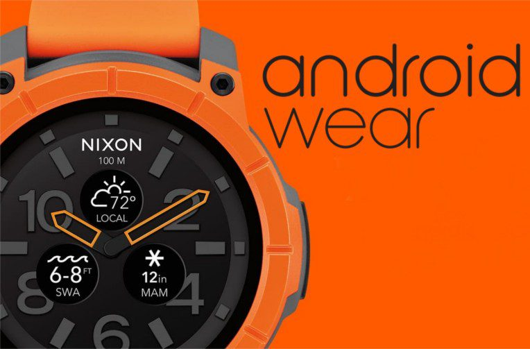 android wear hodinky