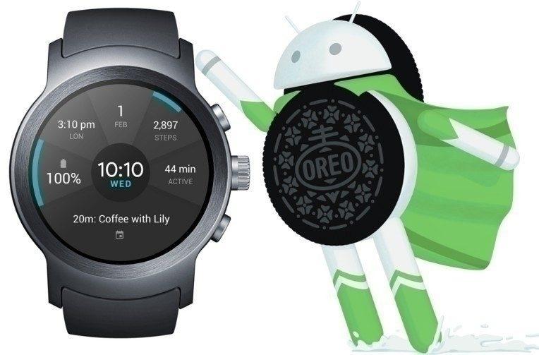 chytre hodinky wear android oreo