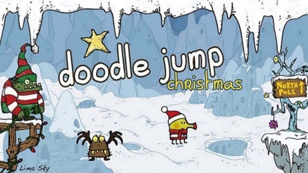 doodle jump vanoce