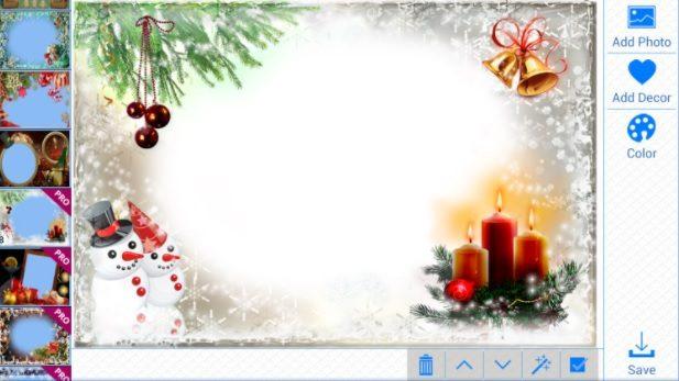 vánoční rámečky android