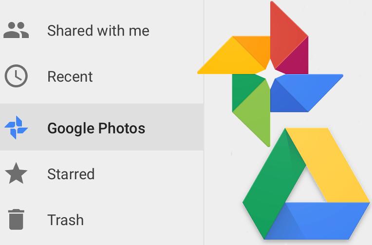 google disk fotky zalozka