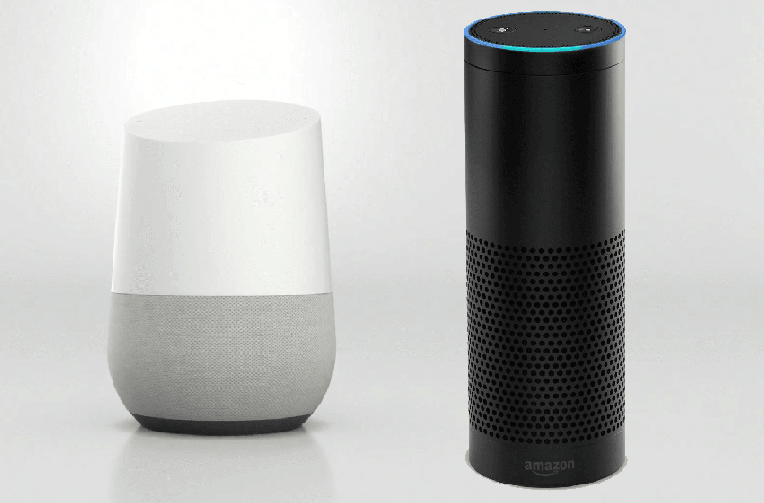 google home amazon echo chytrych reproduktoru