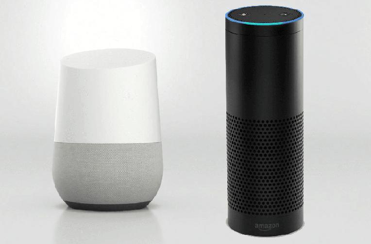 google home amazon echo chytrych reproduktoru