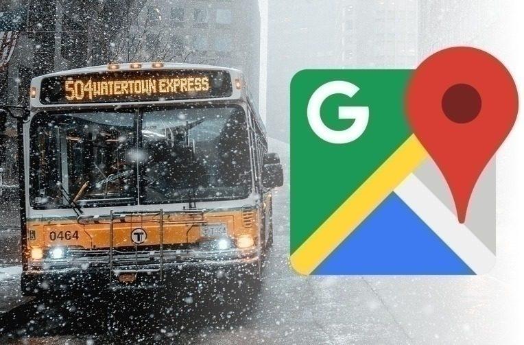 google mapy mhd aktualizace