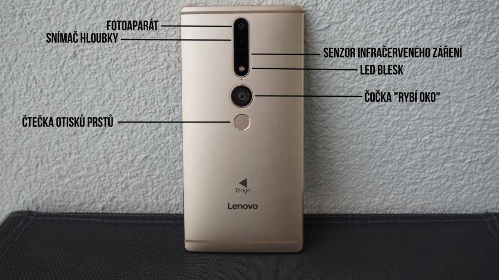 google tango na telefonech